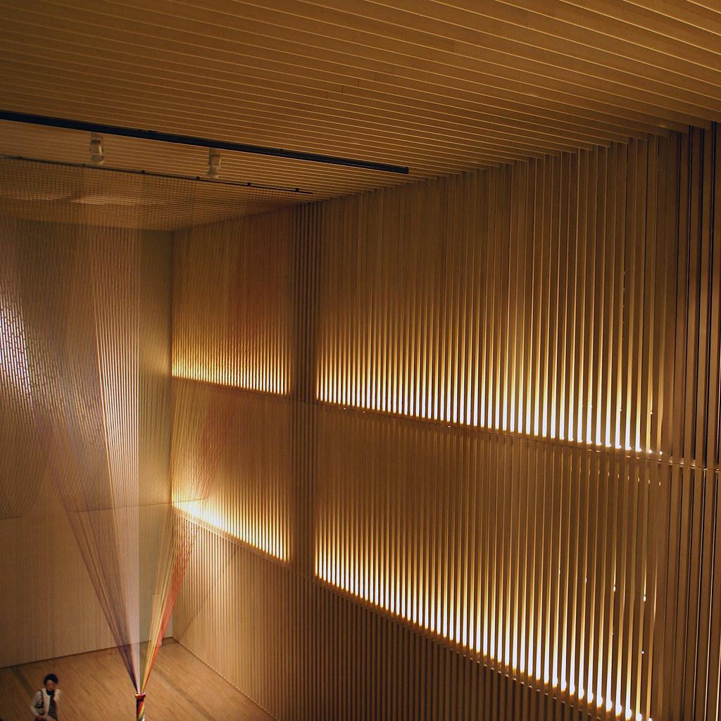 Kengo Kuma Suntory Museum Of Art This Belongs To A Now