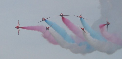 The Red Arrows | by Venvierra @ GothZILLA Photography