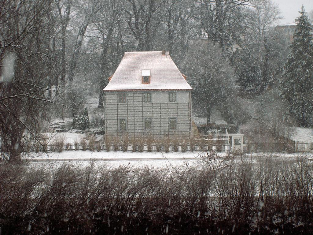 weimar ilmpark goethe gartenhaus im winter aufgenommen auf flickr. Black Bedroom Furniture Sets. Home Design Ideas