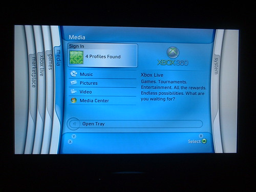 how to get xbox 360 blades dashboard