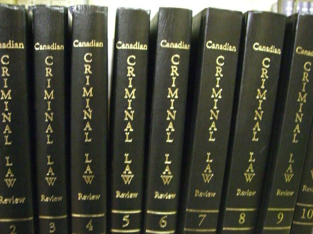 criminal law books volumes 2 to 10