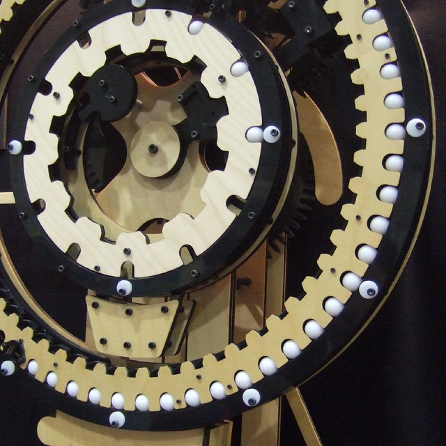 Marble Clock Count The Marbles The Inner Ring Denotes