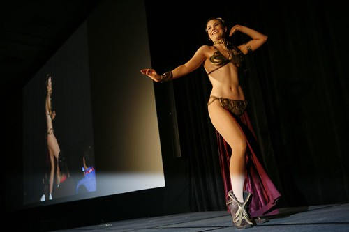 Slave Leia Belly Dancing | by The Official Star Wars