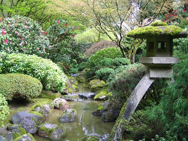 Oregon Portland Japanese Gardens 7258 Explore Oregon