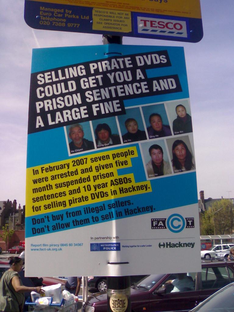 Fact Poster In Tesco Car Park Edward Betts Flickr