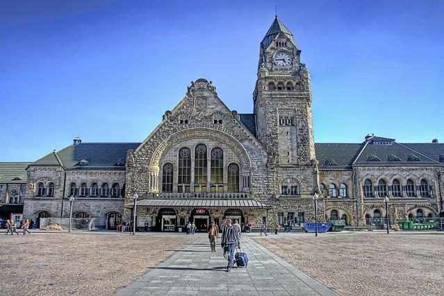 Metz gare gare in metz in france rui m leal flickr for Maison d en france metz