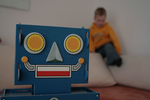 smiling robot friend | by Genista