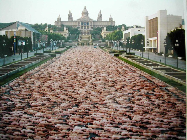 Apologise, Spencer tunick naked people understand