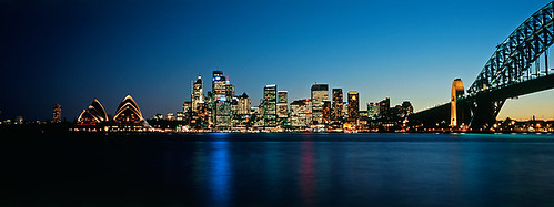Sydney Skyline at Night, Australia | by matt watkinson