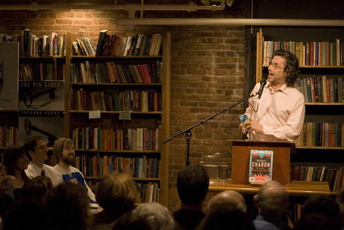 Michael Chabon reads @ Elliott Bay Books | by Chris Blakeley