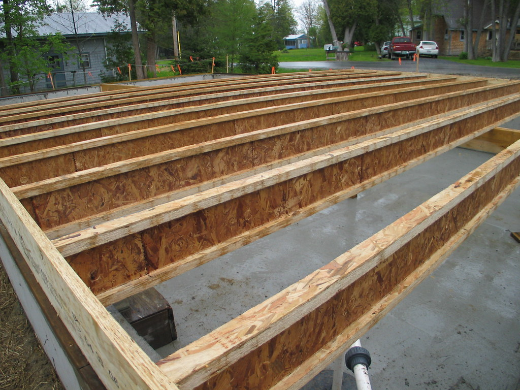 Tji Series 230 Laying Out Joists In The Rain