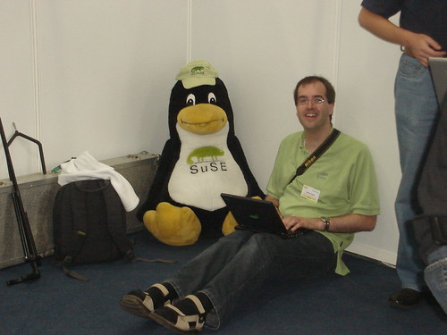 SUSE Tux | by Kushal Das