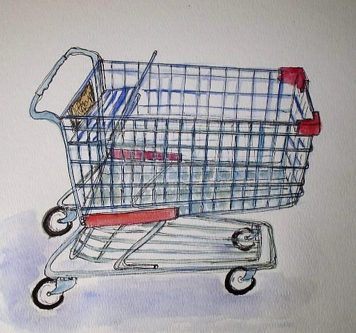 edm challenge 115 draw a shopping cart emma pod flickr rh flickr com Go Cart Drawing how to draw a shopping cart step by step