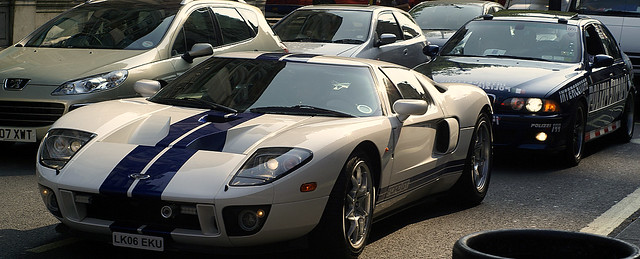 Ford Gt M Police Car Gumball By Georgio