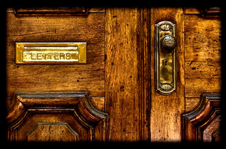 Brass Mail Slot & Doorknob | by Marc_714