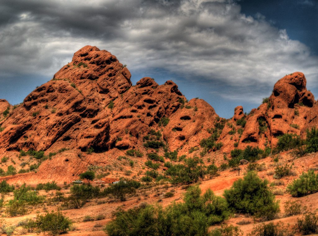 Papago Park The Distinctive Red Sandstone Geological