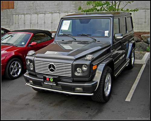 mercedes gel ndewagen spotted at the park place motors par flickr. Black Bedroom Furniture Sets. Home Design Ideas