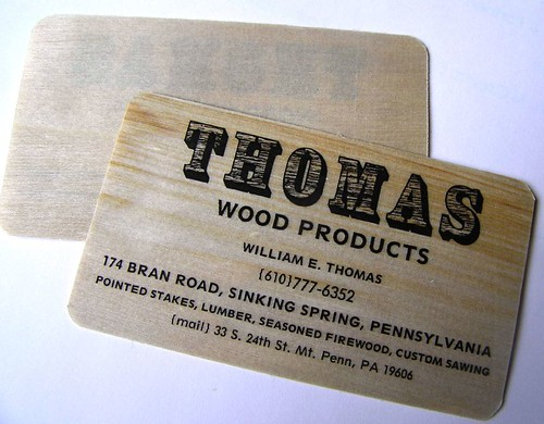 thomas wood products | by dailypoetics