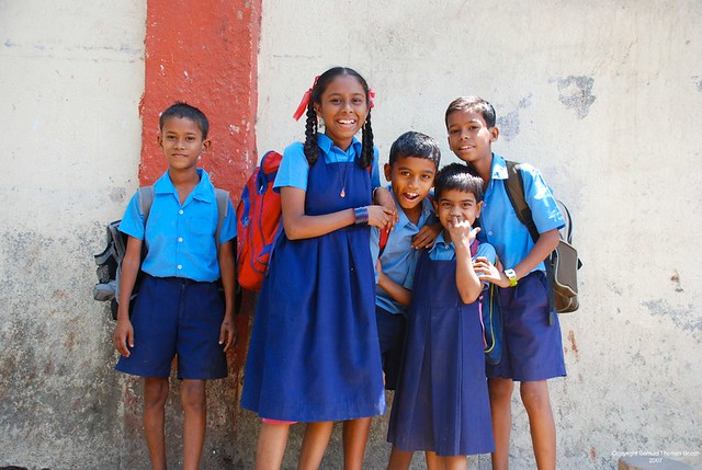 Indian School Children | I LOVE this photo! | Samuel ...