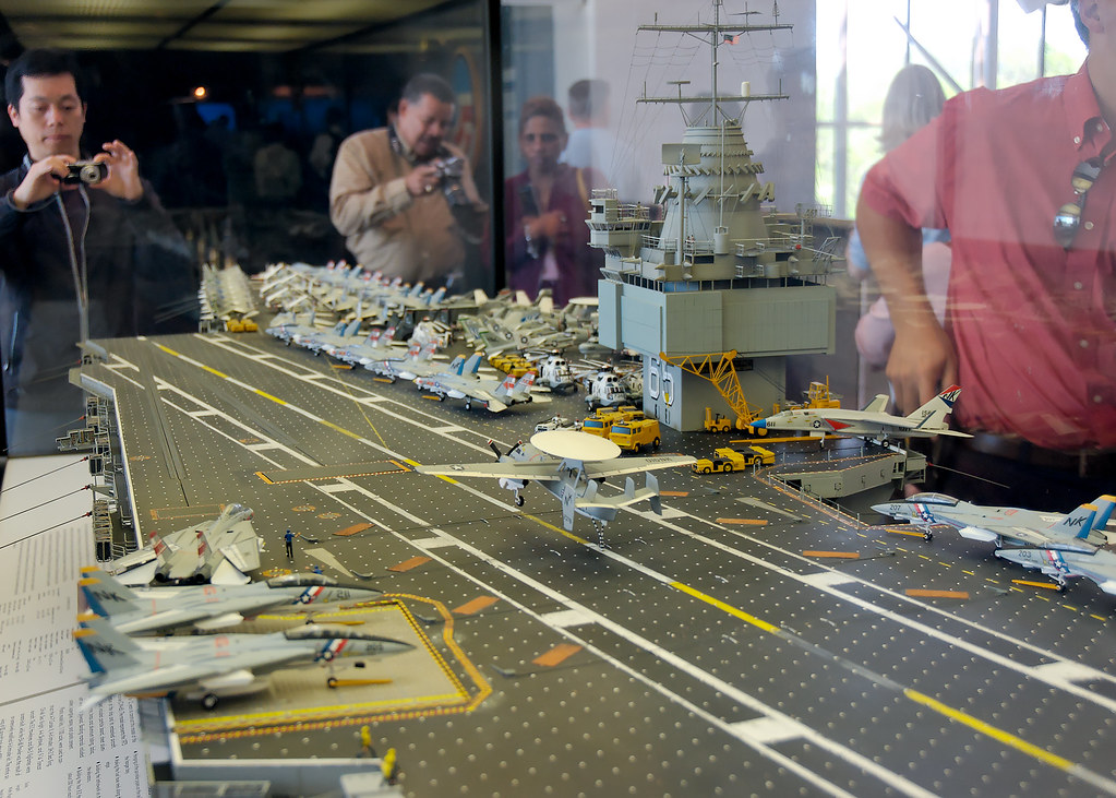 Aircraft Carrier Model | Exhibit from the Smithsonian ...