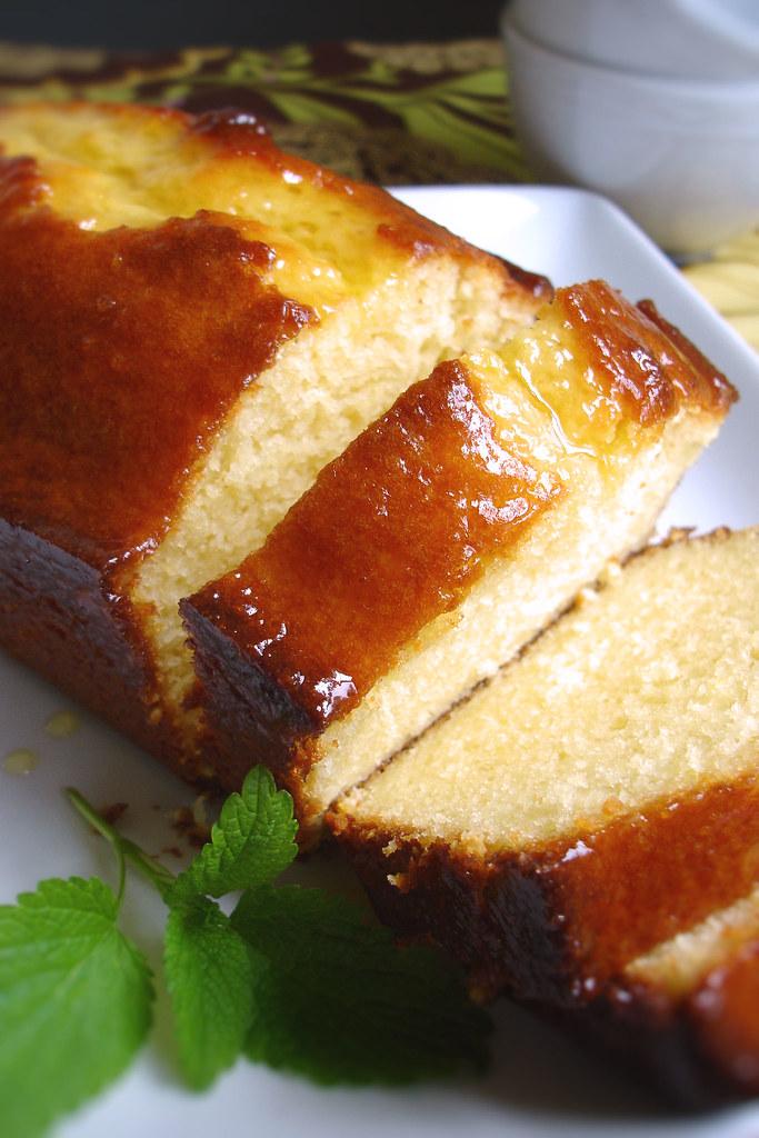 Yogurt Pound Cake Loaf