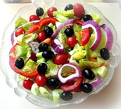 tossed salad... will add my homemade vinaigrette later .. | by The Gifted Photographer