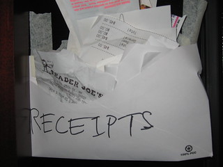 Receipts | by will*fish