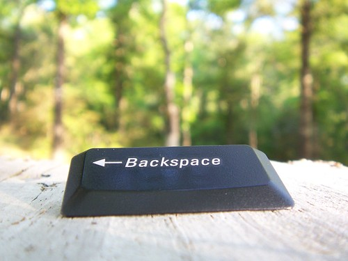 backspace | by ElbridgeGerry