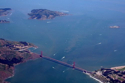First view of the golden gate bridge | by robpatrick