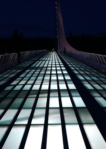 sundial bridge at night dave test flickr