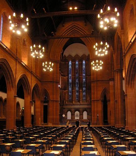 glasgow university of strathclydes barony hall taking