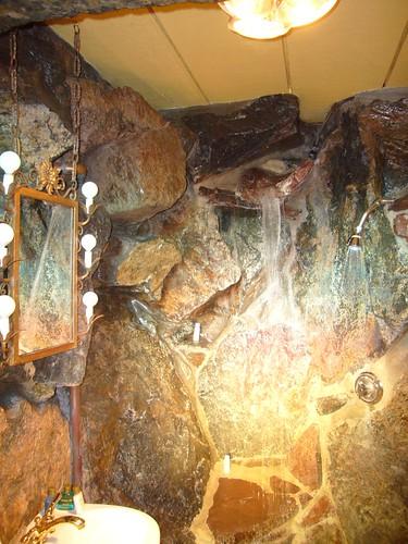 Madonna Inn Waterfall Shower
