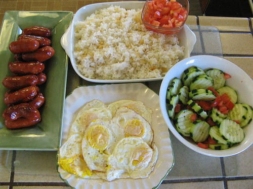 Typical Filipino Breakfast To Complete The
