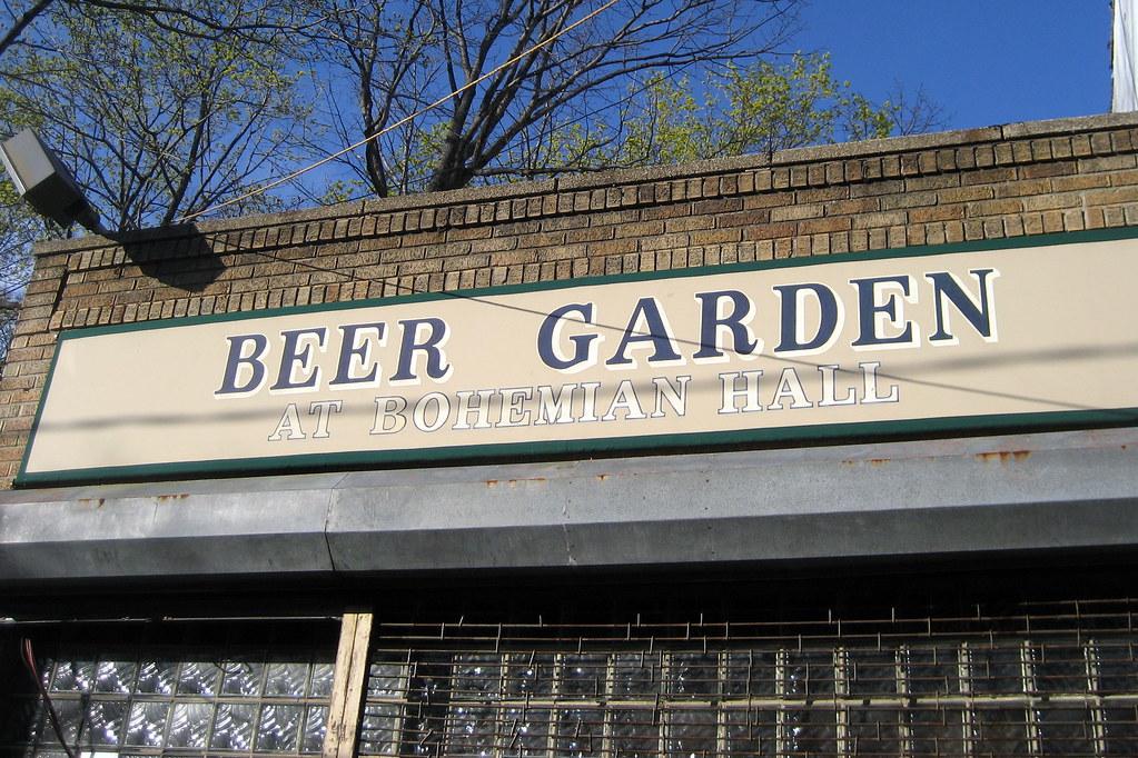 Nyc Queens Astoria Bohemian Hall And Beer Garden Flickr