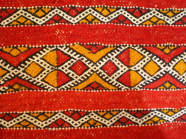 Teppich aus Marokko  chaouki  Flic