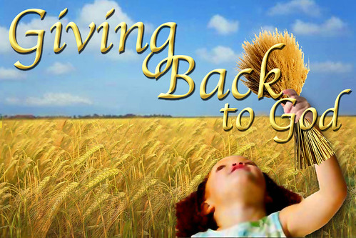 Giving Back to God | A slide we made for our church for ...
