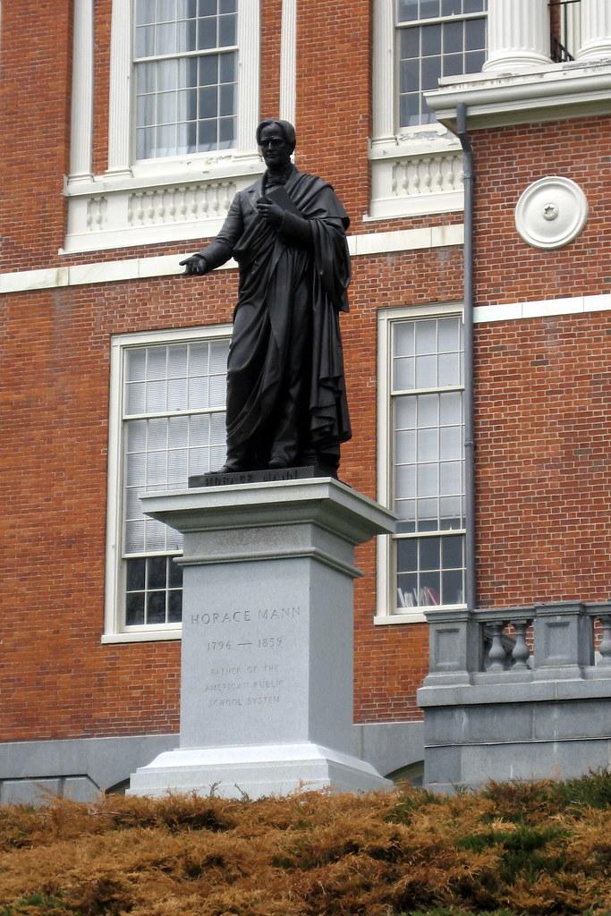 Boston Freedom Trail Massachusetts State House Horace