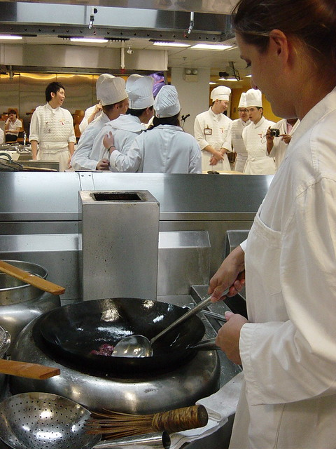 Chinese Cuisine Training Institute 4/17/07 | Me taking a sho