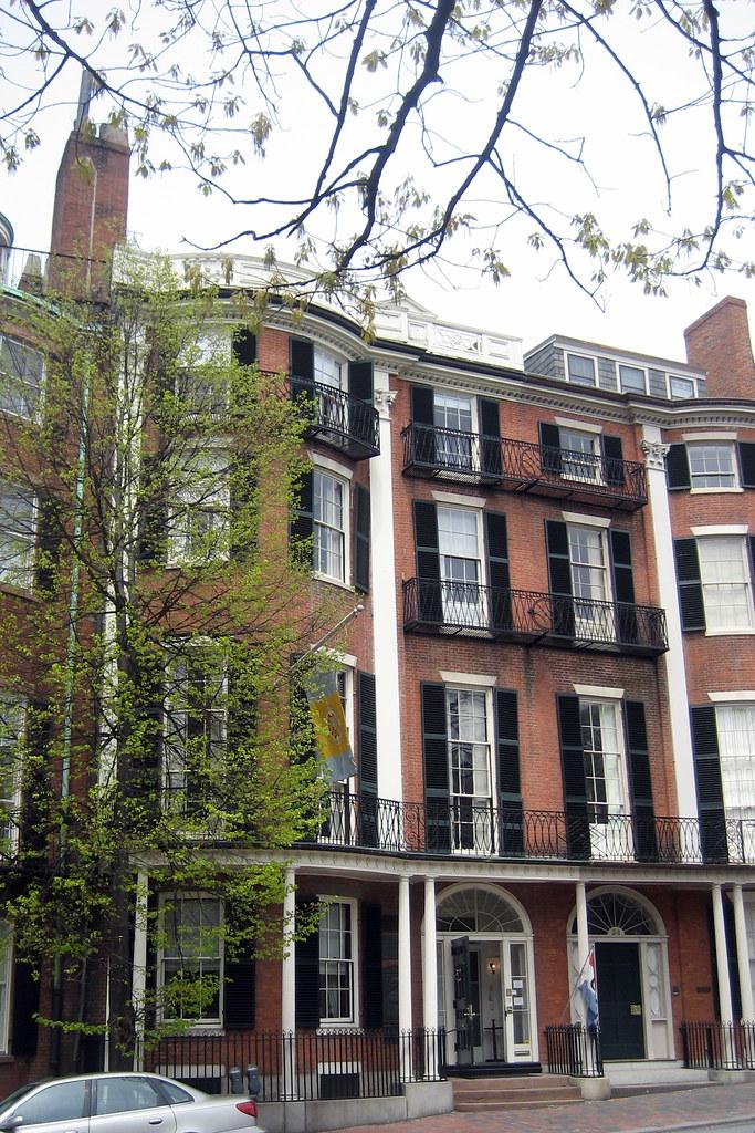 Boston Beacon Hill William Hickling Prescott House And