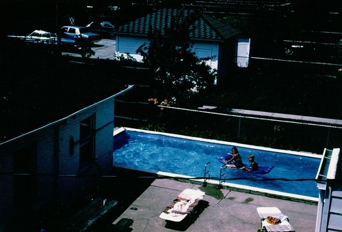 Swimming Pool Chicago Summer 1980 We Were Swimming In This Flickr
