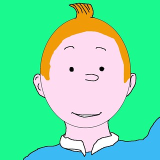 A Slightly Better Tintin | by msmiffy