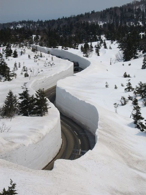 how to stop on deep snow