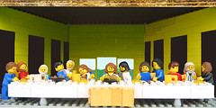 copia d'arte Lego - the last supper -ultima cena- Leonardo da Vinci | by udronotto