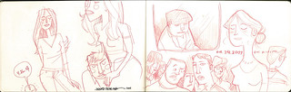sketches: bus riding 3 | by wardomatic