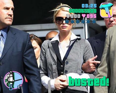 Paris Theft Grand Theft Auto Paris Hilton