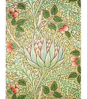 william morris artichoke wallpaper artichoke. Black Bedroom Furniture Sets. Home Design Ideas