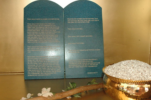 Ten Commandments Inside The Ark Of The Covenant In The Mo Flickr