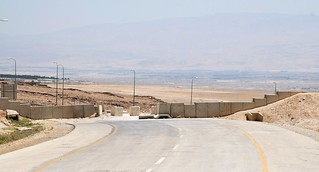 closed road on the edge of Jericho | by Michael.Loadenthal