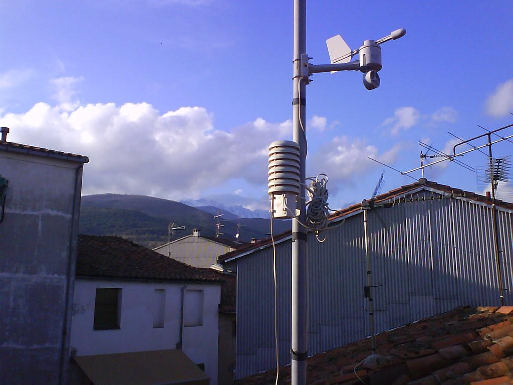 Estacion meteorol gica candeleda ya se pueden ver las - Estacion meteorologica precio ...