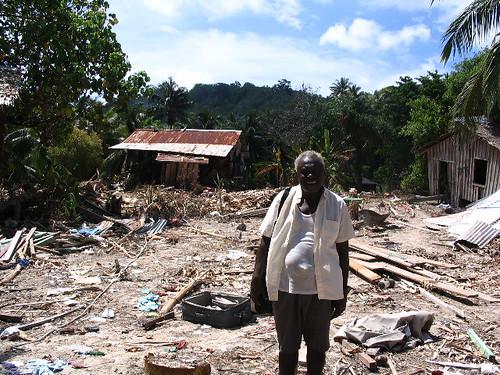 Solomon Islands Tsunami -- Minister whose church was washed away | by scientologyvm